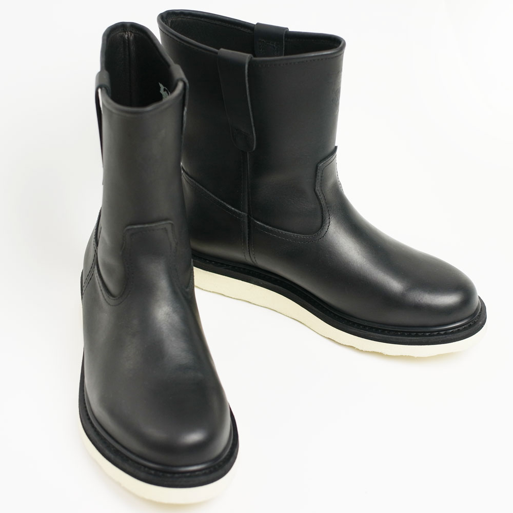 BLUCO × BLACK DALLAS ENGINNER PECOS BOOTS