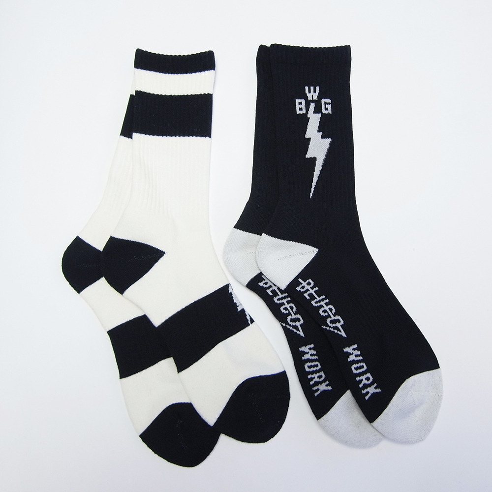 BULCO W.G 2pc MID SOCKS