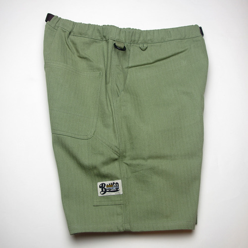 BLUCO EASY PAINTER SHORTS OLIVE [OL-005]